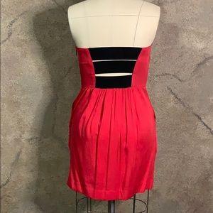 RACHEL Rachel Roy Dresses - Red strapless dress